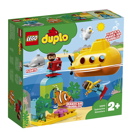 LEGO Duplo Submarine Adventure Bath Toy - 10910