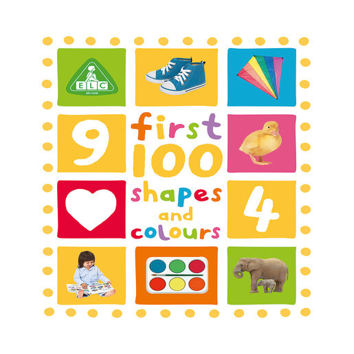 Early Learning Centre First 100 Shapes and Colours Book