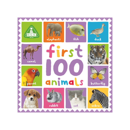 Early Learning Centre First 100 Animals Book