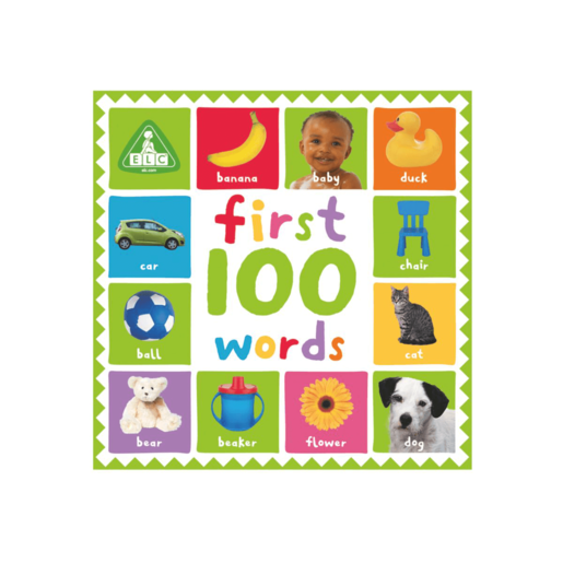 First 100 Words Large Board Book