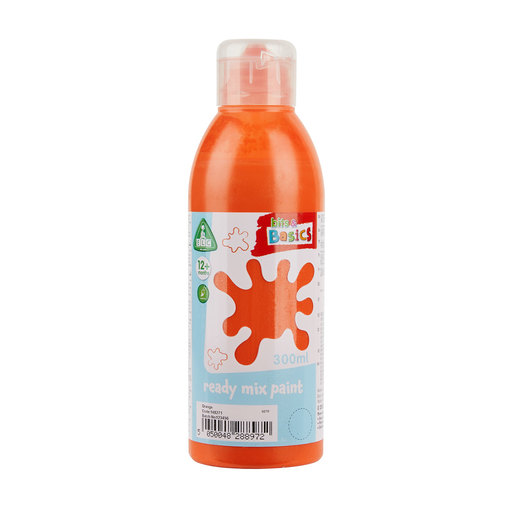 Early Learning Centre Bits & Basics Ready Mix Paint 300ml - Orange