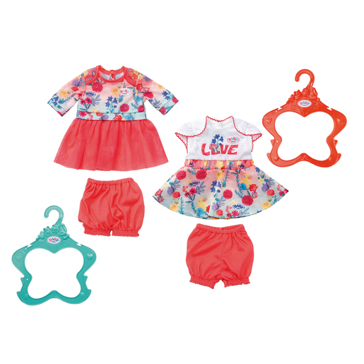 BABY Born Trend Baby Dresses for 43cm Doll