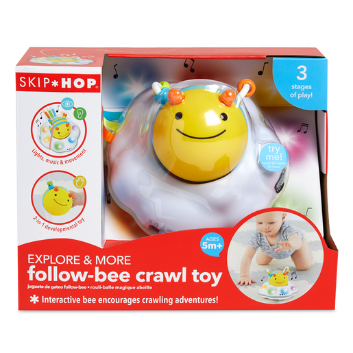 Skip Hop Explore and More Follow-Bee Crawl Toy