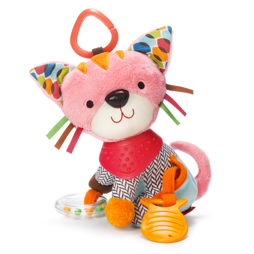 Skip Hop Bandana Buddies Activity Toy - Kitty