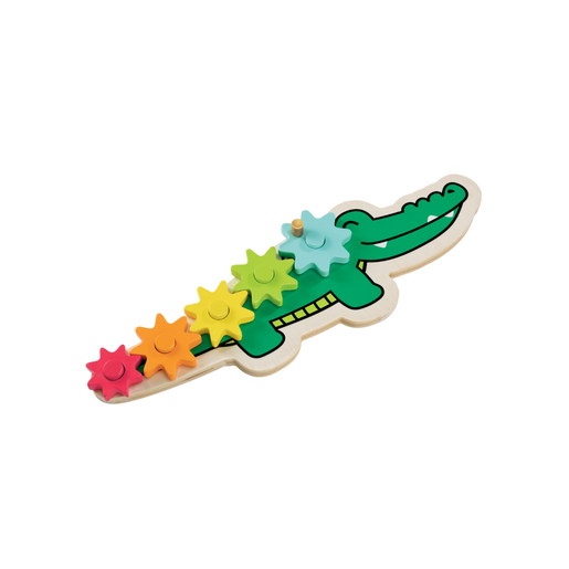 Early Learning Centre Wooden Crocogears