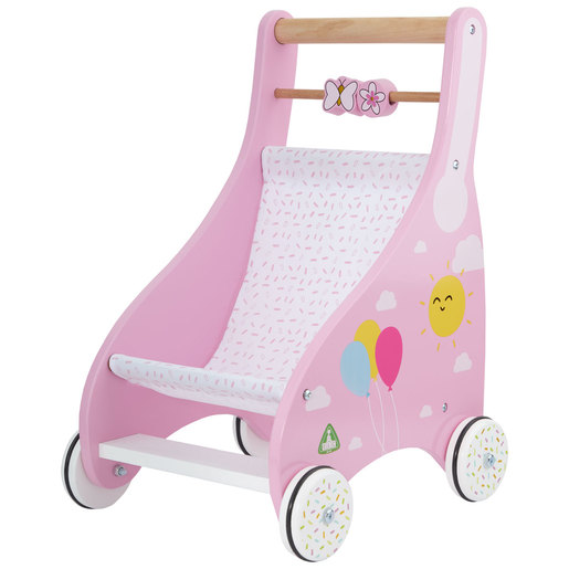 Early Learning Centre Wooden Pushchair