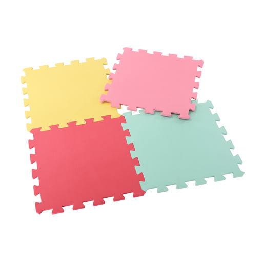 Early Learning Centre Recreation Mats 4 Pack - Pastel