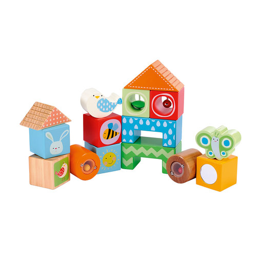 Early Learning Centre Classic Wooden Activity Blocks