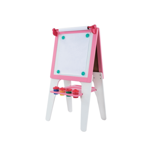 Early Learning Centre Wooden Easel - Pink