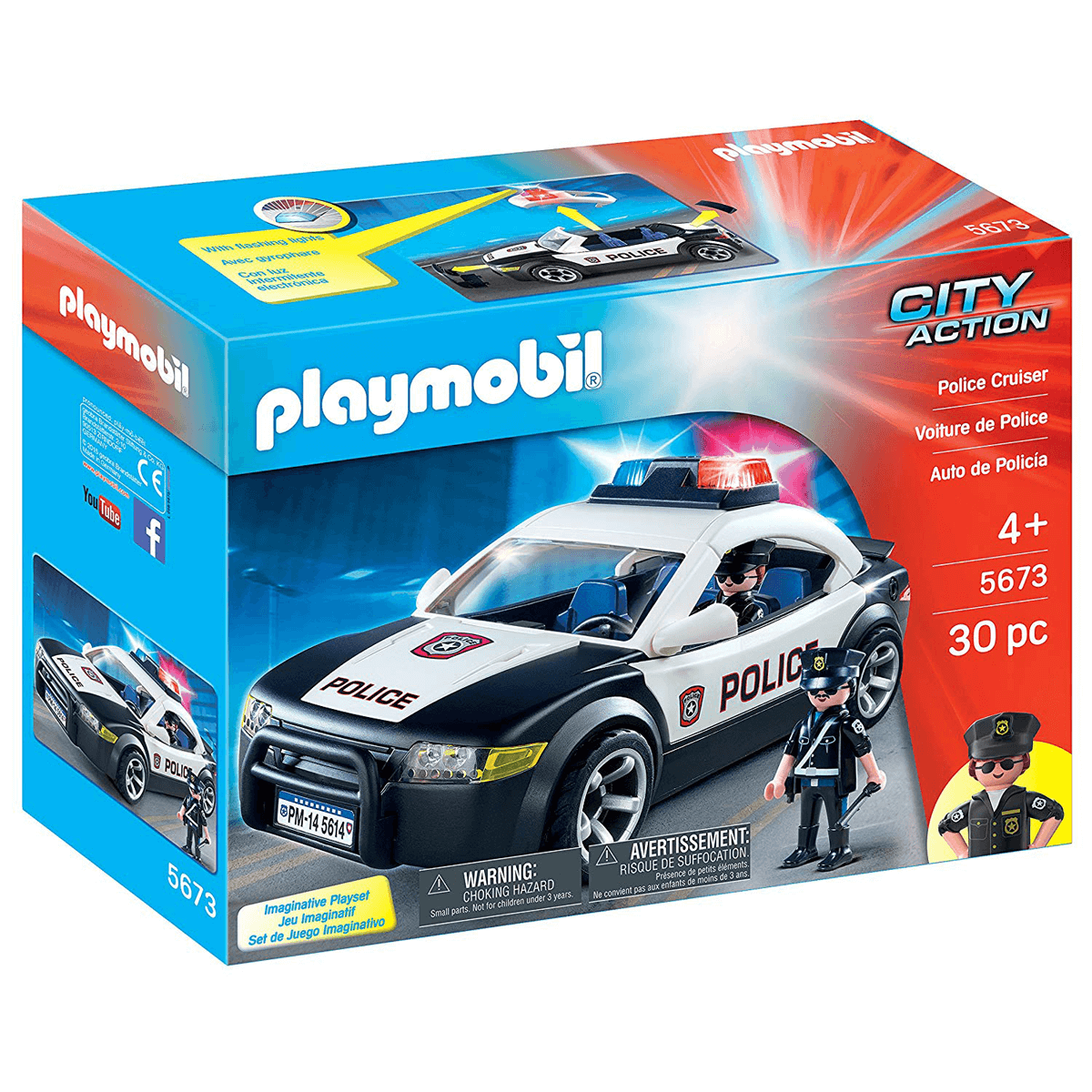 Playmobil City Action Police Cruiser - 5673 from Early Learning Center