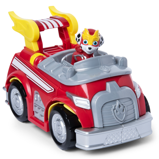 Paw Patrol Mighty Pups Super Paws Marshall's Powered Up Firetruck
