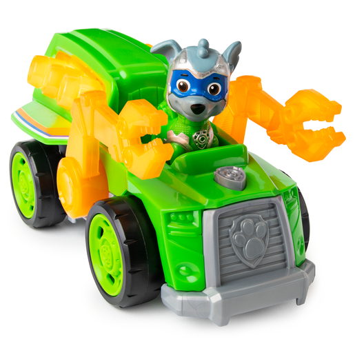 Paw Patrol Mighty Pups Super Pups Deluxe Vehicle - Rocky