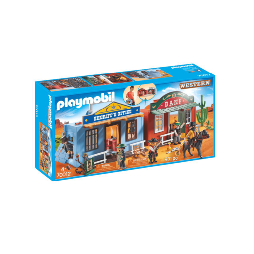 Playmobil Western Take Along Western City - 70012