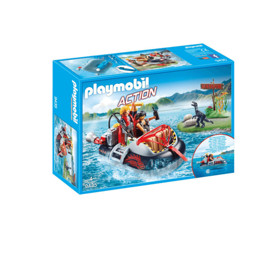 Playmobil City Action Dino Hovercraft with Underwater Motor - 9435