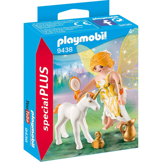 Playmobil Special Plus 9438 Fairy and Unicorn Figures