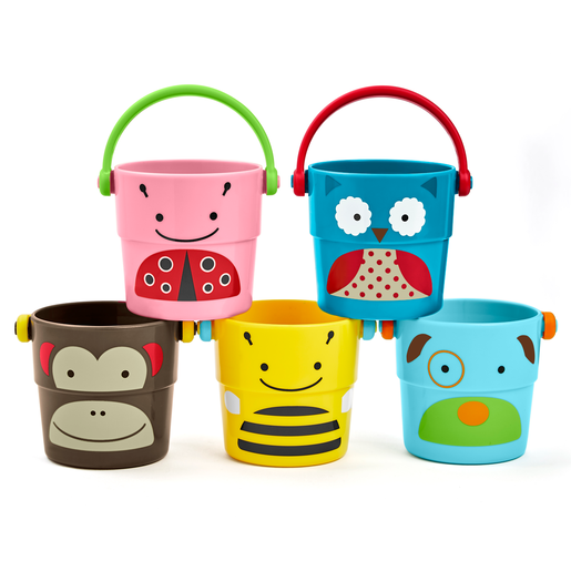 Skip Hop ZOO Stack and Pour Buckets