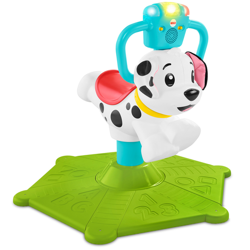 Fisher-Price Bounce and Spinn Puppy