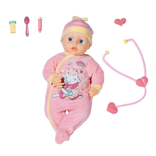 Baby Annabell Milly Feels Better 43cm Doll | Early ...