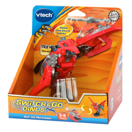 VTech Switch & Go Dinos - Soar the Pteranodon
