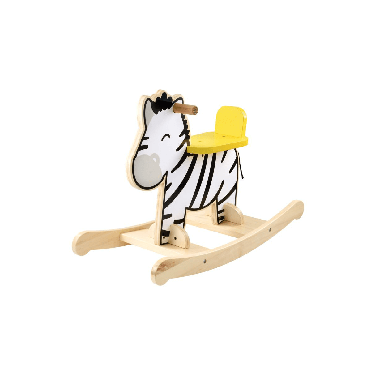 Early Learning Centre Wooden Rocking Zebra