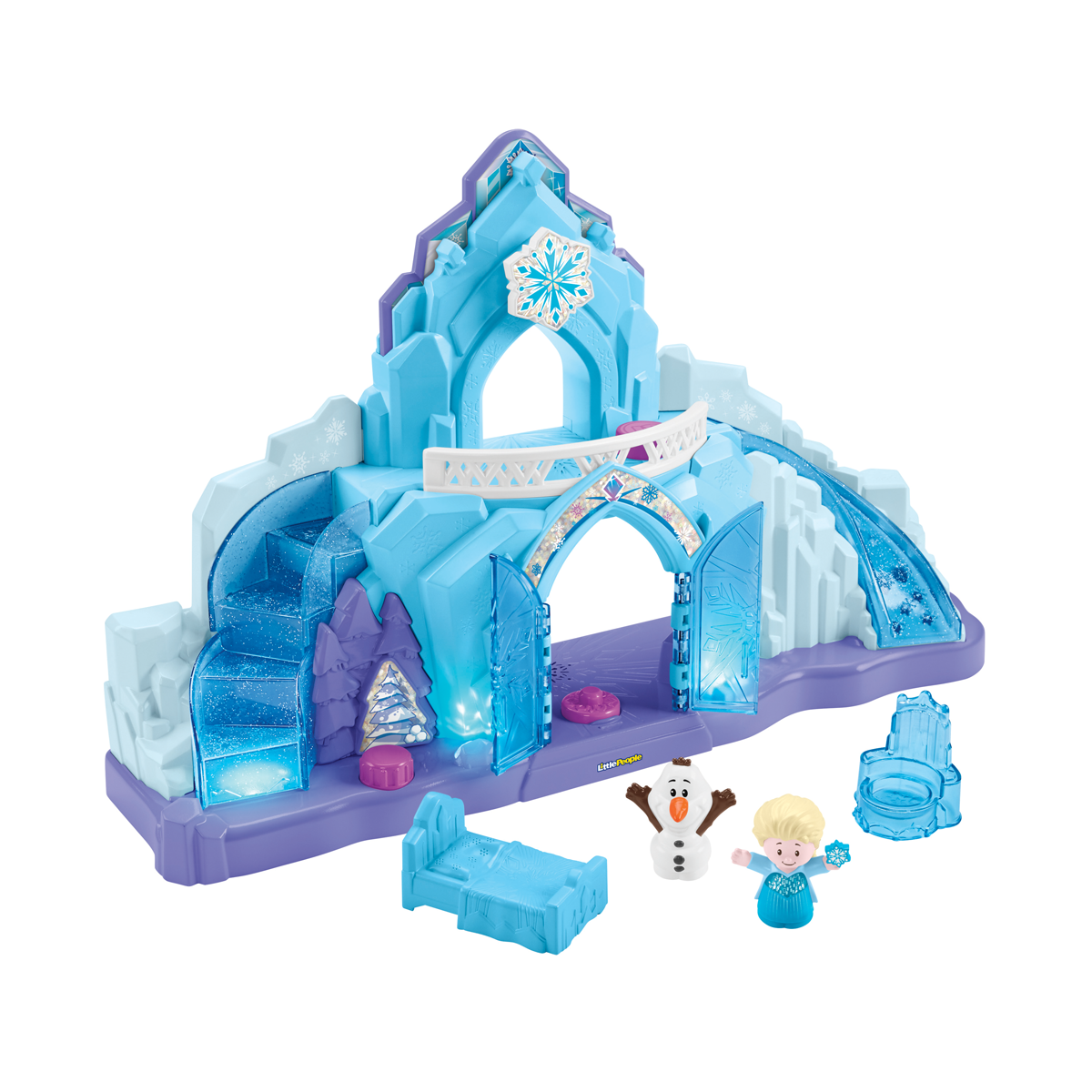 Fisher Price Little People Disney Frozen Elsa's Ice Palace