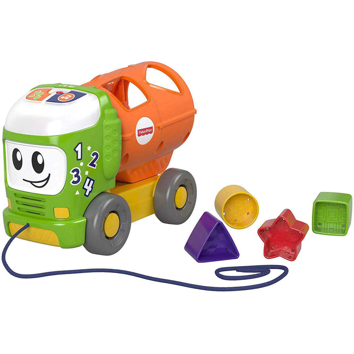 Fisher-Price Sort and Spill Learning Truck from Early Learning Center