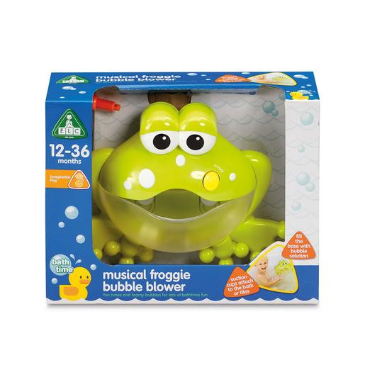 Early Learning Centre Musical Froggie Bubble Machine