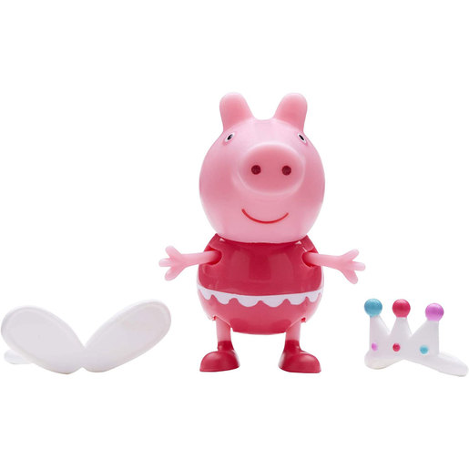Peppa Pig Dress and Play Figures (Styles Vary)
