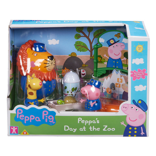 Peppa Pig Theme Playset (3 Asst)