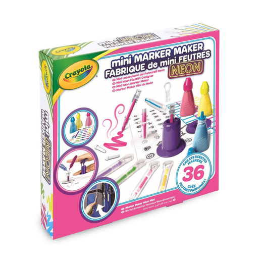 Crayola Mini Marker Maker - Neon