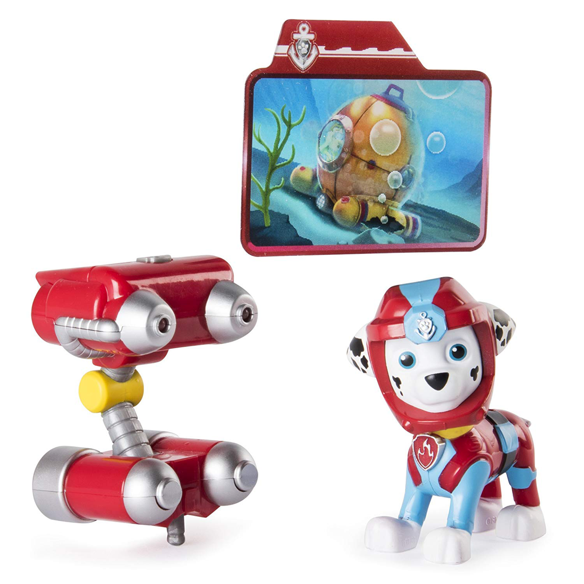 Paw Patrol Sea Patrol Light Up Figure - Marshall from Early Learning Center