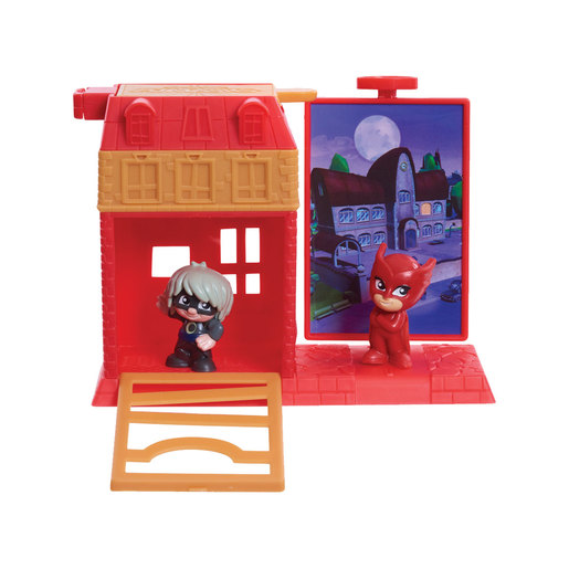 PJ Masks Micro Trap and Escape Playset - Owlette and Luna Girl