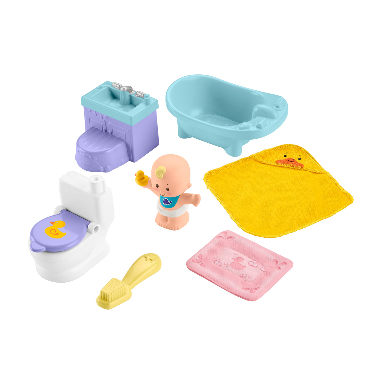 Fisher-Price Little People Wash & Go Playset from Early Learning Center