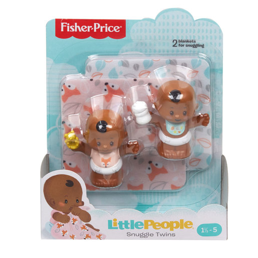 Fisher-Price Little People Snuggle Twin Figures - Autumn Twins