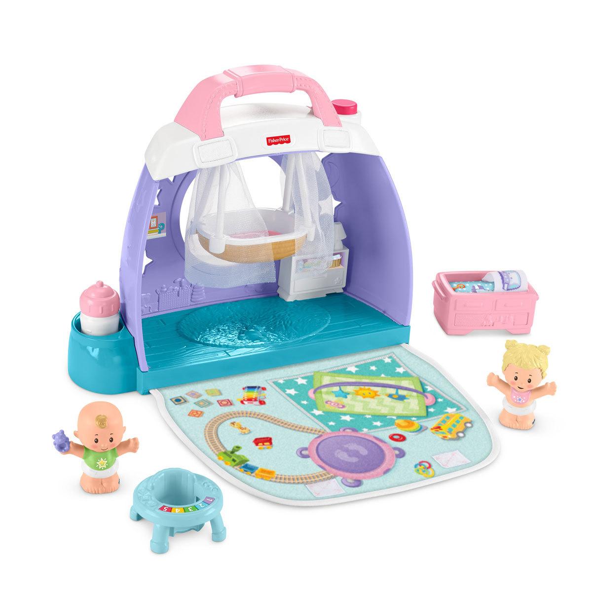 Fisher-Price Little People Cuddle & Play Nursey Playset