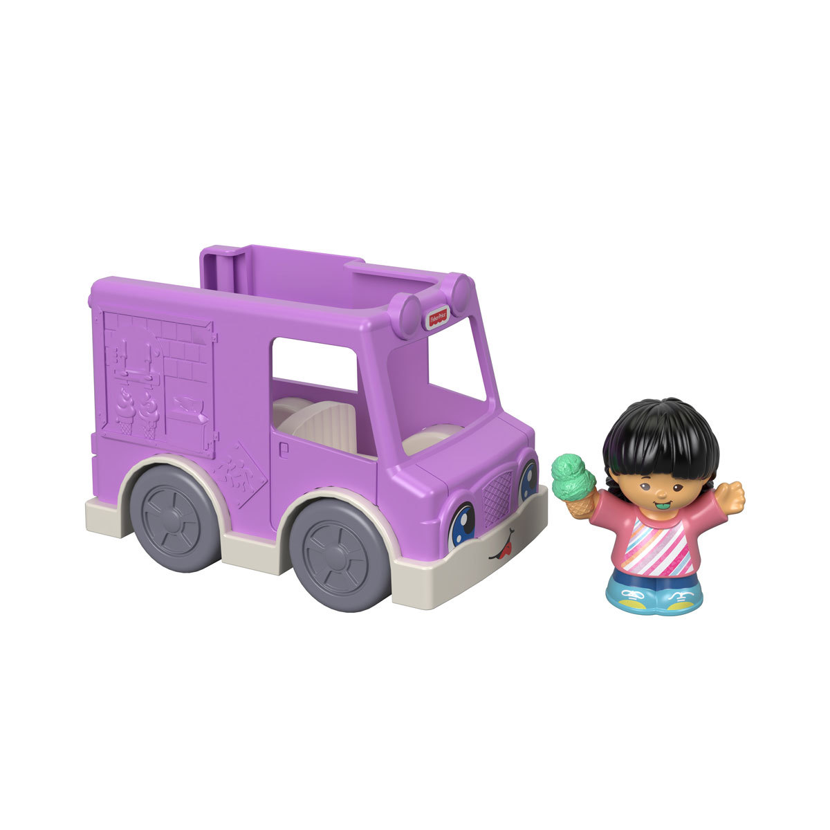 Fisher-Price Little People Vehicle and Figure - Ice Cream Van