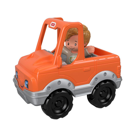 Fisher-Price Little People Vehicle and Figure - Fisherman and Truck