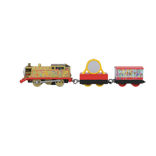 Fisher-Price Thomas & Friends Trackmaster - Motorised Golden Thomas Train Engine