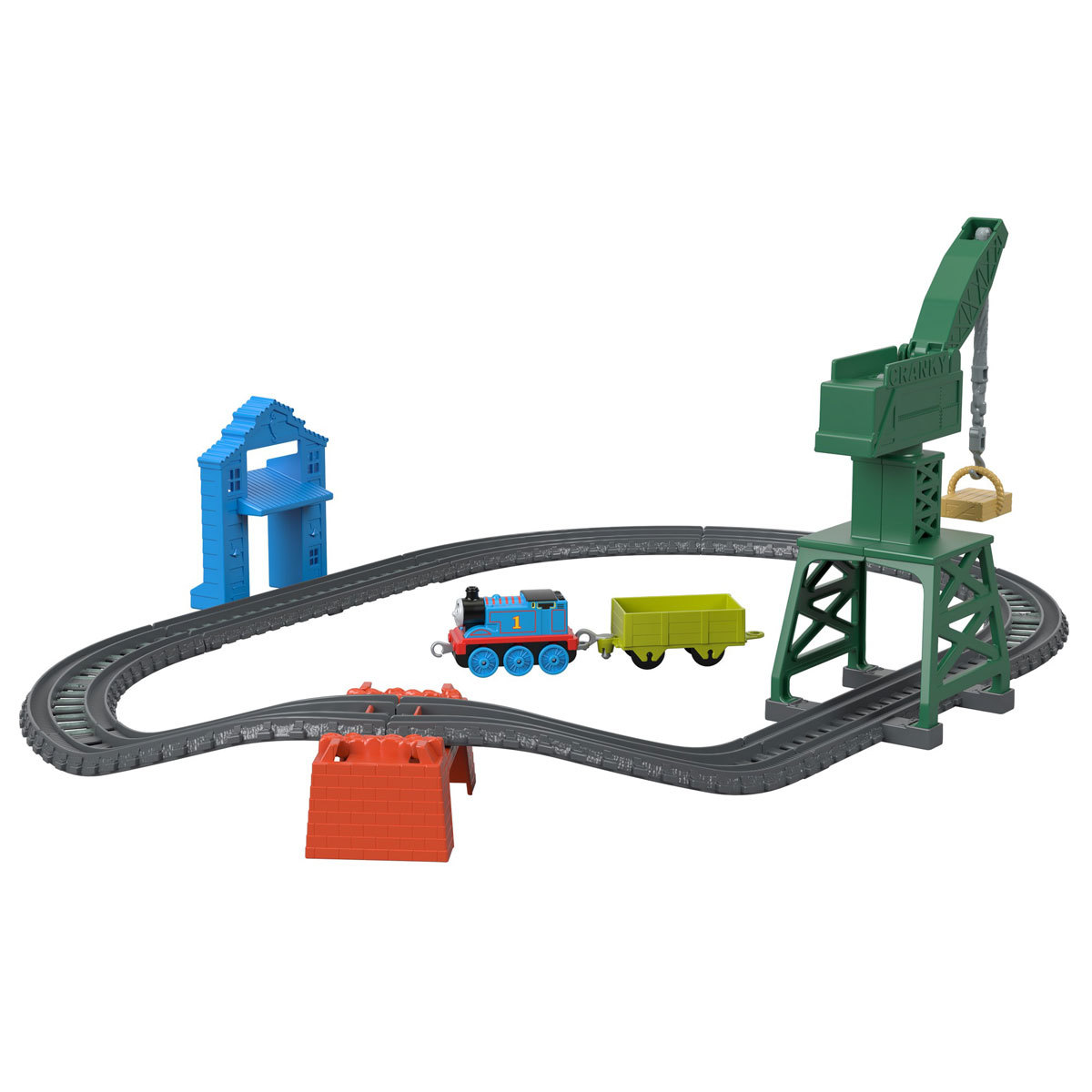 Fisher-Price Thomas & Friends Trackmaster - Brendam Fish Market Train Set from Early Learning Center