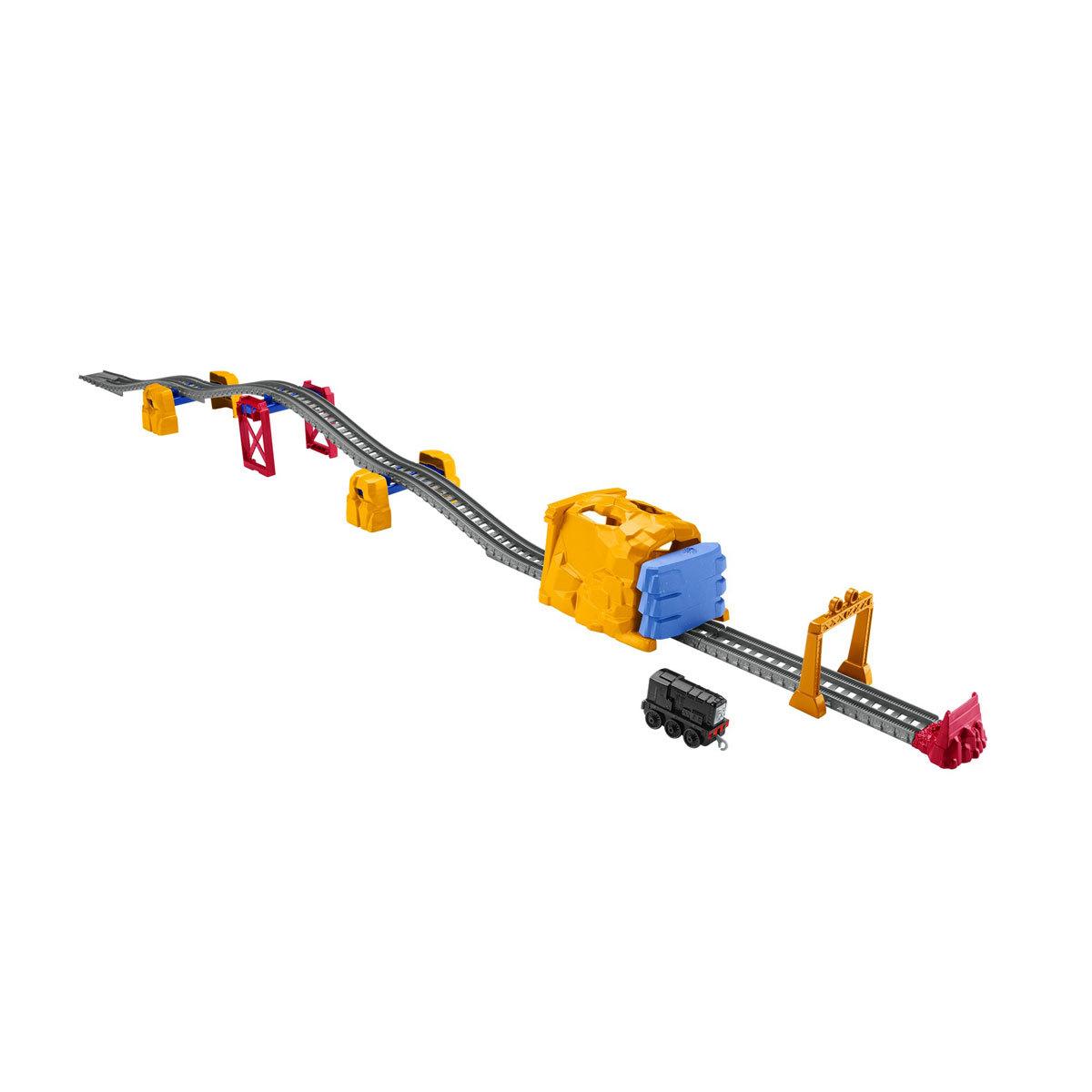 Fisher-Price Thomas & Friends Trackmaster - Diesel Tunnel Blast Train Set