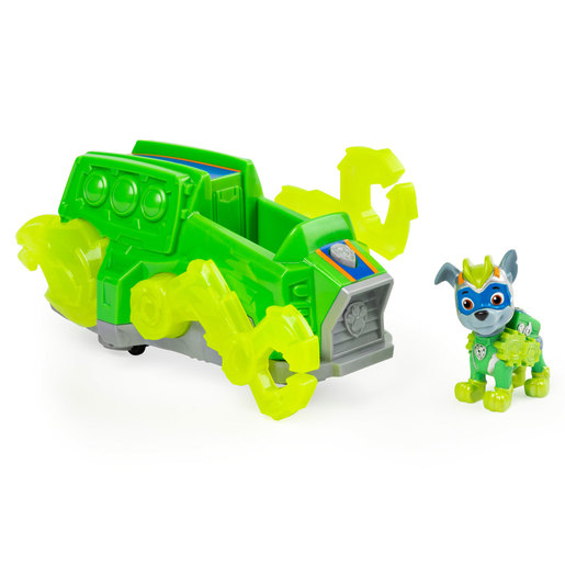 Paw Patrol Mighty Pups Charged Up Deluxe Vehicle - Rocky