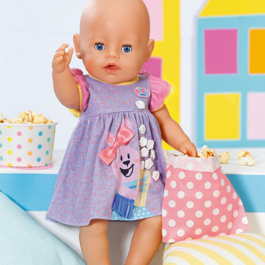 BABY Born 43cm Doll Dress - Purple