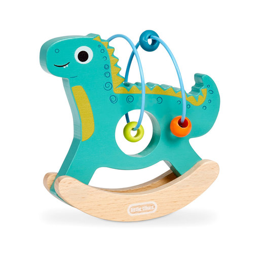 Little Tikes Wooden Critters Dino Busy Beads
