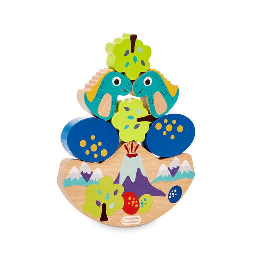 Little Tikes Wooden Critters Dino Balancing Toy