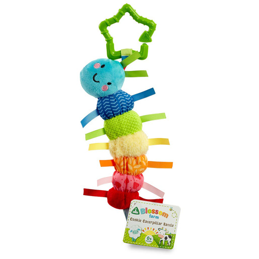 Blossom Farm Cookie Caterpillar Rattle