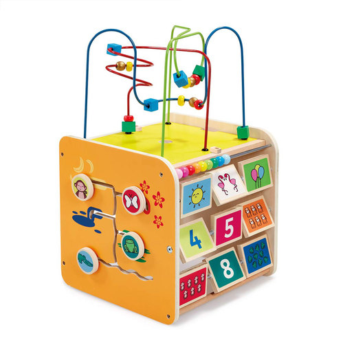 Early Learning Centre Giant Classic Wooden Activity Cube