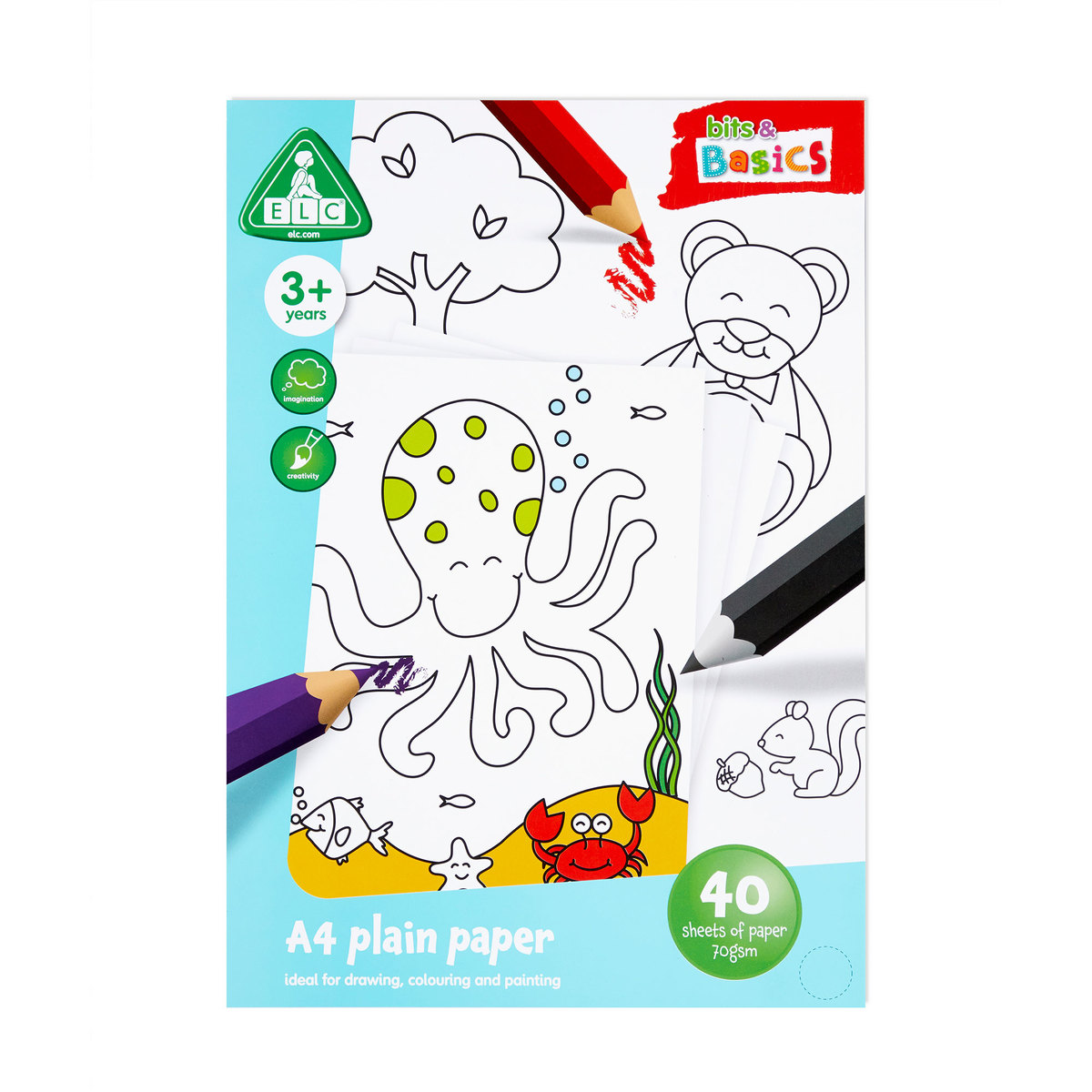Early Learning Centre A4 plain paper pad