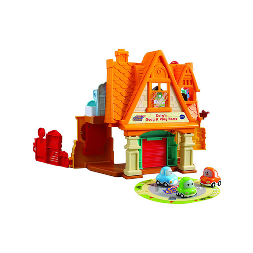 VTech Toot-Toot Drivers Cory Carson's Stay And Play Home