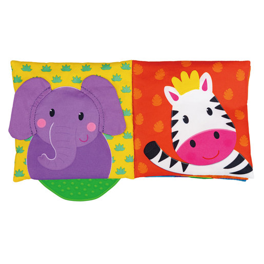 Galt Jungle Teether Soft Book