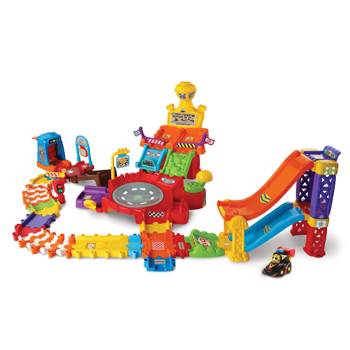 Vtech Toot-Toot Drivers Super Racing Set from Early Learning Center